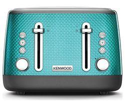 KENWOOD Mesmerine TFM810BL 4-Slice Toaster - Blue