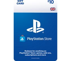 PlayStation Store £10 Wallet Top-Up