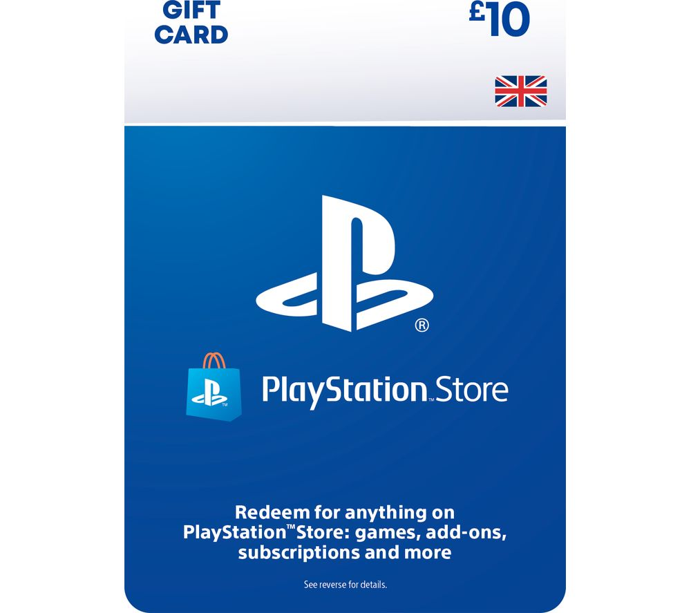 Image of PlayStation Store £10 Wallet Top-Up