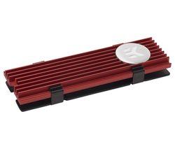EK COOLING EK-M.2 NVMe Heatsink - Red & Black