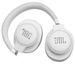 JBL Live 550BT Wireless Bluetooth Earphones - White
