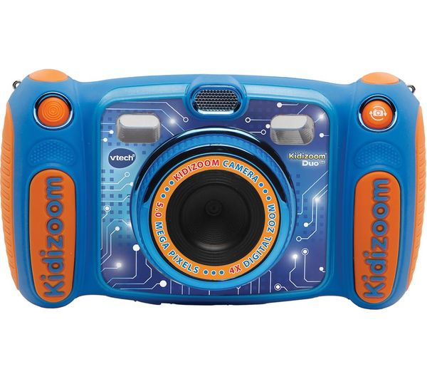 Image of VTECH Kidizoom Duo 5.0 Compact Camera - Blue