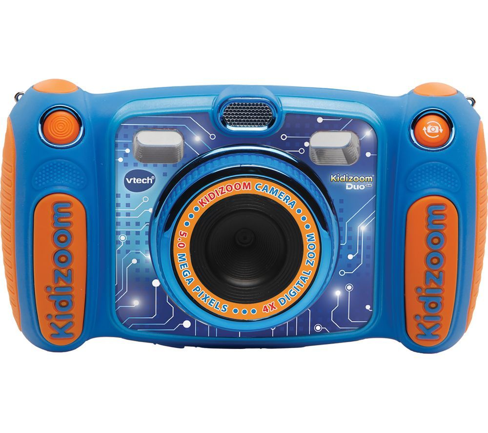 VTECH Kidizoom Duo 5.0 Compact Camera - Blue