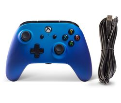 Xbox One Enhanced Wired Controller - Sapphire Fade