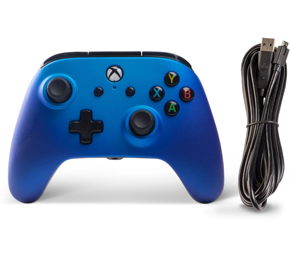 POWERA Xbox One Enhanced Wired Controller - Sapphire Fade