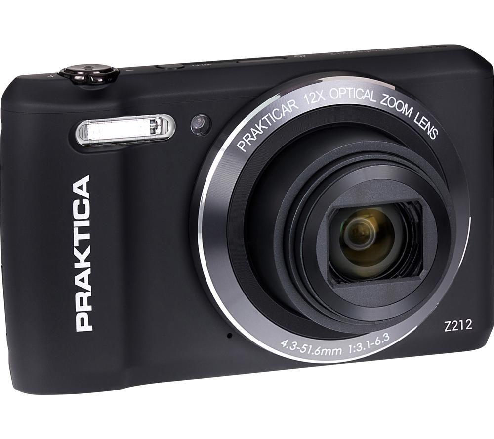 Click to view product details and reviews for Praktica Luxmedia Z212 Bk Compact Camera Black Black.