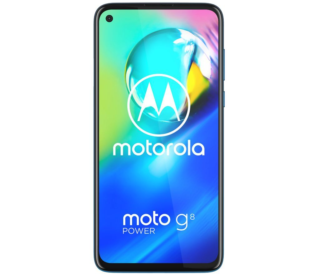 MOTOROLA G8 Power - 64 GB, Capri Blue