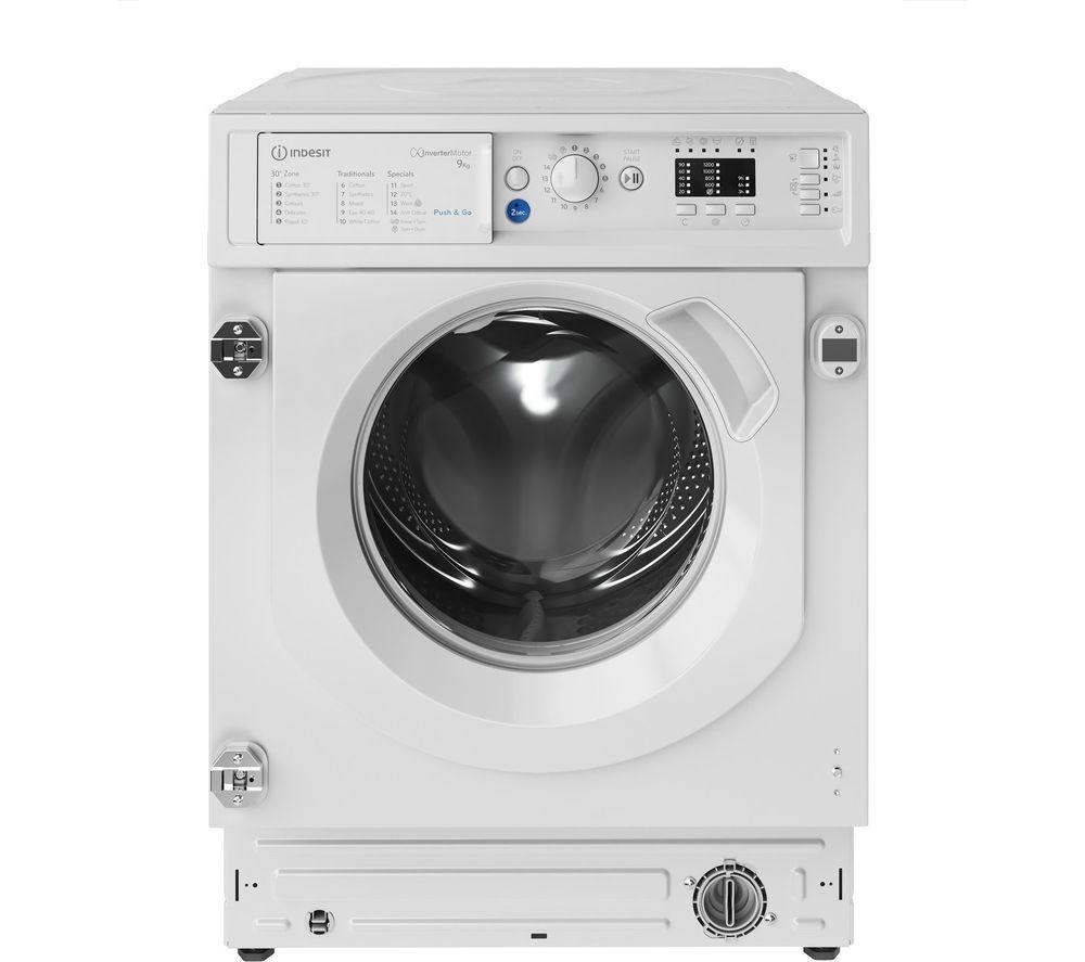INDESIT BIWMIL91484 Integrated 9 kg 1400 Spin Washing Machine