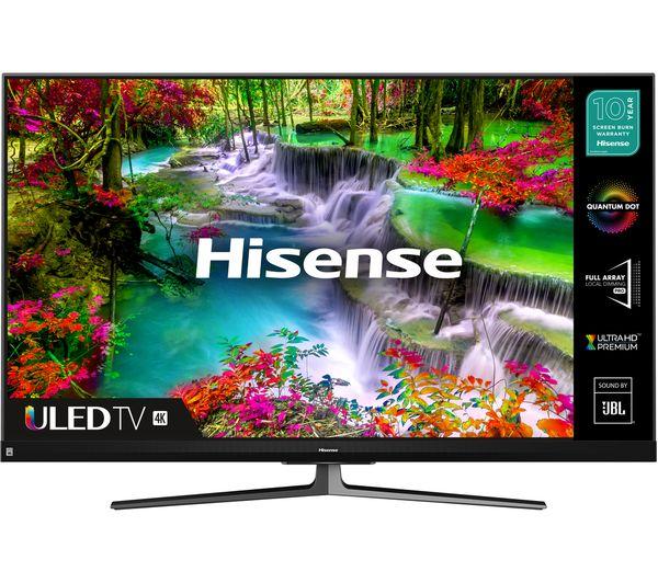 "Image of HISENSE 55U8QFTUK 55"" Smart 4K Ultra HD HDR QLED TV with Amazon Alexa"