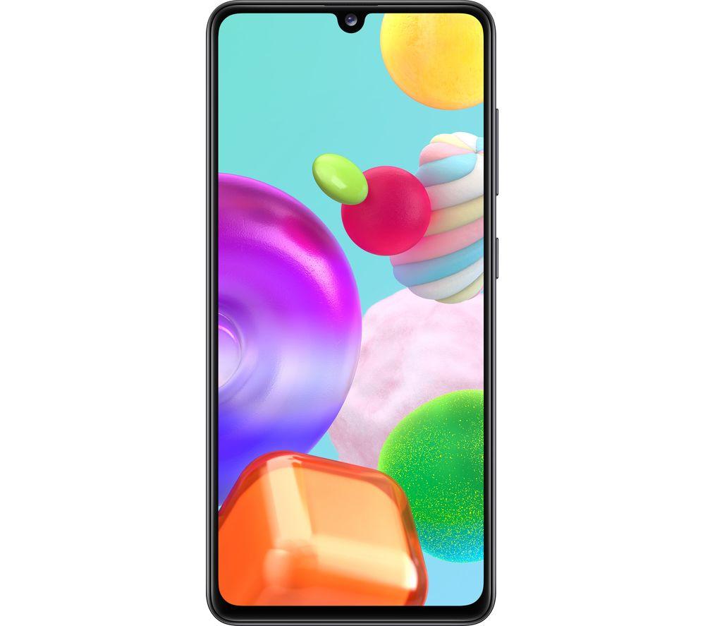 SAMSUNG Galaxy A41 - Black, 64 GB