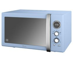 SWAN Retro SM22085BLN Solo Microwave - Blue Best Price, Cheapest Prices