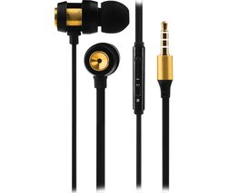 Alloy VK-1007-GD Earphones - Gold & Black
