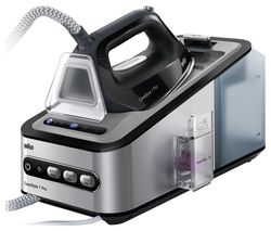 BRAUN CareStyle 7 Pro IS7156BK Steam Generator Iron - Black & Silver Best Price, Cheapest Prices