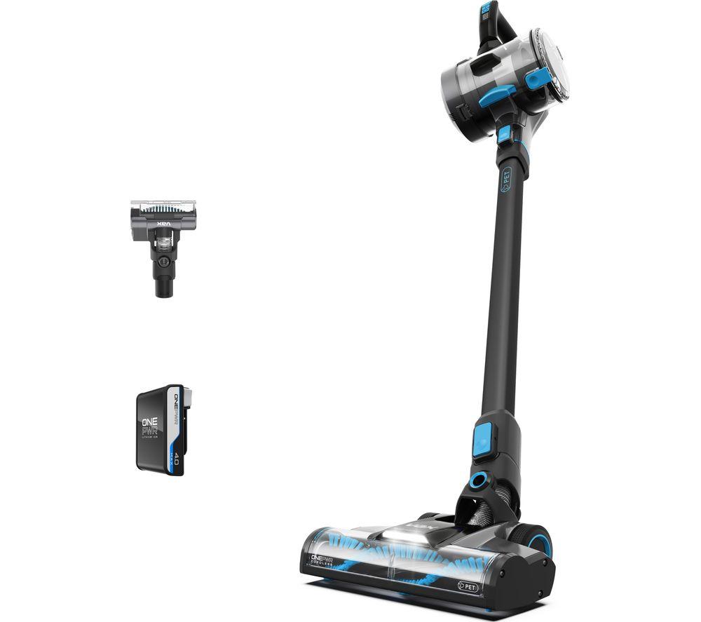VAX Blade 4 Pet CLSV-B4KP Cordless Vacuum Cleaner – Graphite & Blue