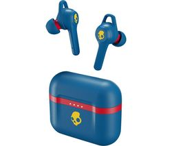 SKULLCANDY Indy Evo Wireless Bluetooth Earphones - 92 Blue