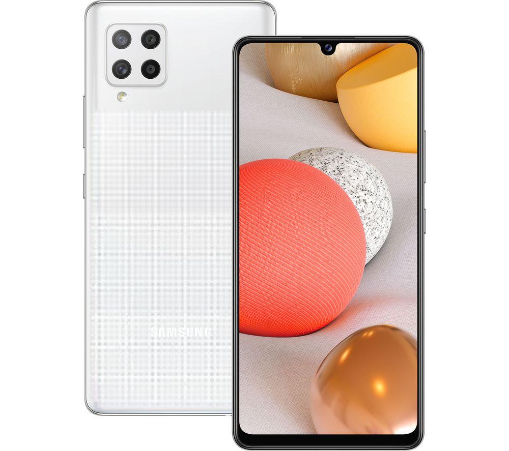 SAMSUNG Galaxy A42 5G - 128 GB, Prism Dot White