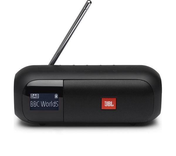 Image of JBL Tuner 2 Portable DAB+/FM Bluetooth Radio - Black