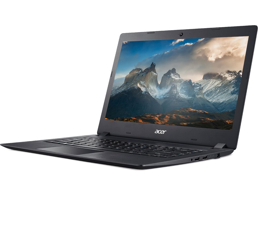 ACER Aspire 1 14 Laptop - Intel�Celeron?, 64 GB eMMC, Black, Black