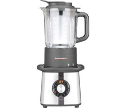 Cook & Mix Plus Blender - Silver & Black