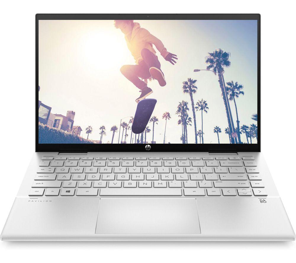 "HP Pavilion x360 14-dy0517sa 14"" 2 in 1 Laptop - Intel® Core™ i5, 256 GB SSD, Silver"