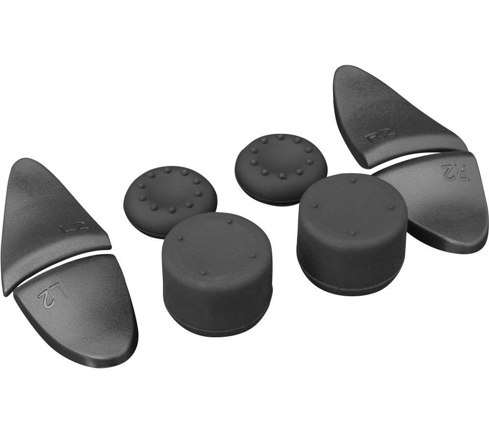 WHITE SHARK Hook PlayStation 5 Controller Button Kit, White