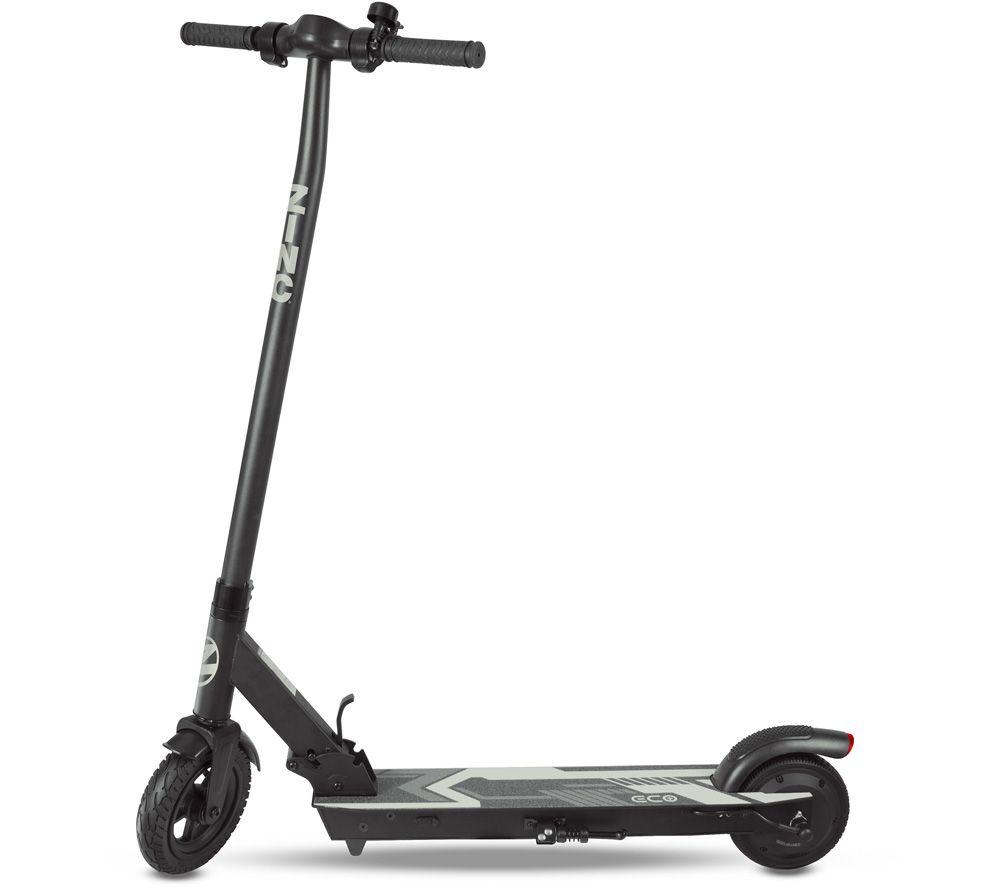 ZINC Eco Plus Folding Electric Scooter - Black
