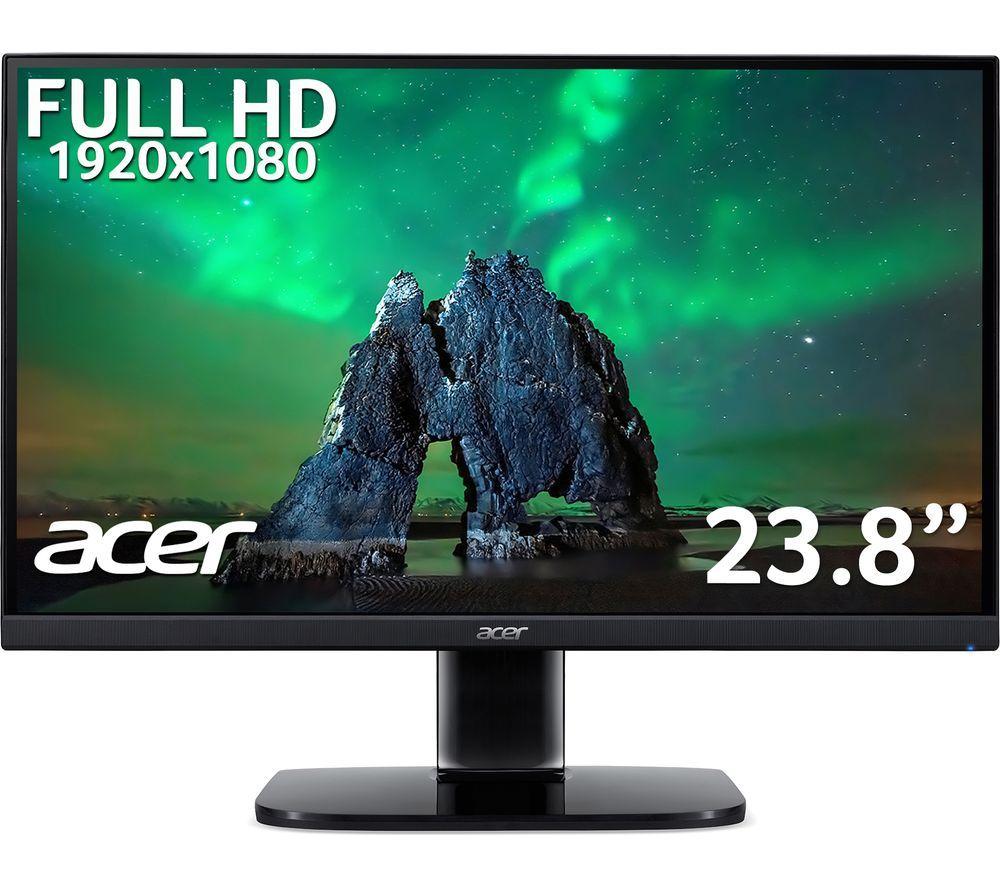 ACER KA240Ybi Full HD 23.8inch IPS LED Monitor - Black