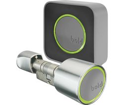 SX-33 Smart Door Lock with Connect Control Hub - Silver