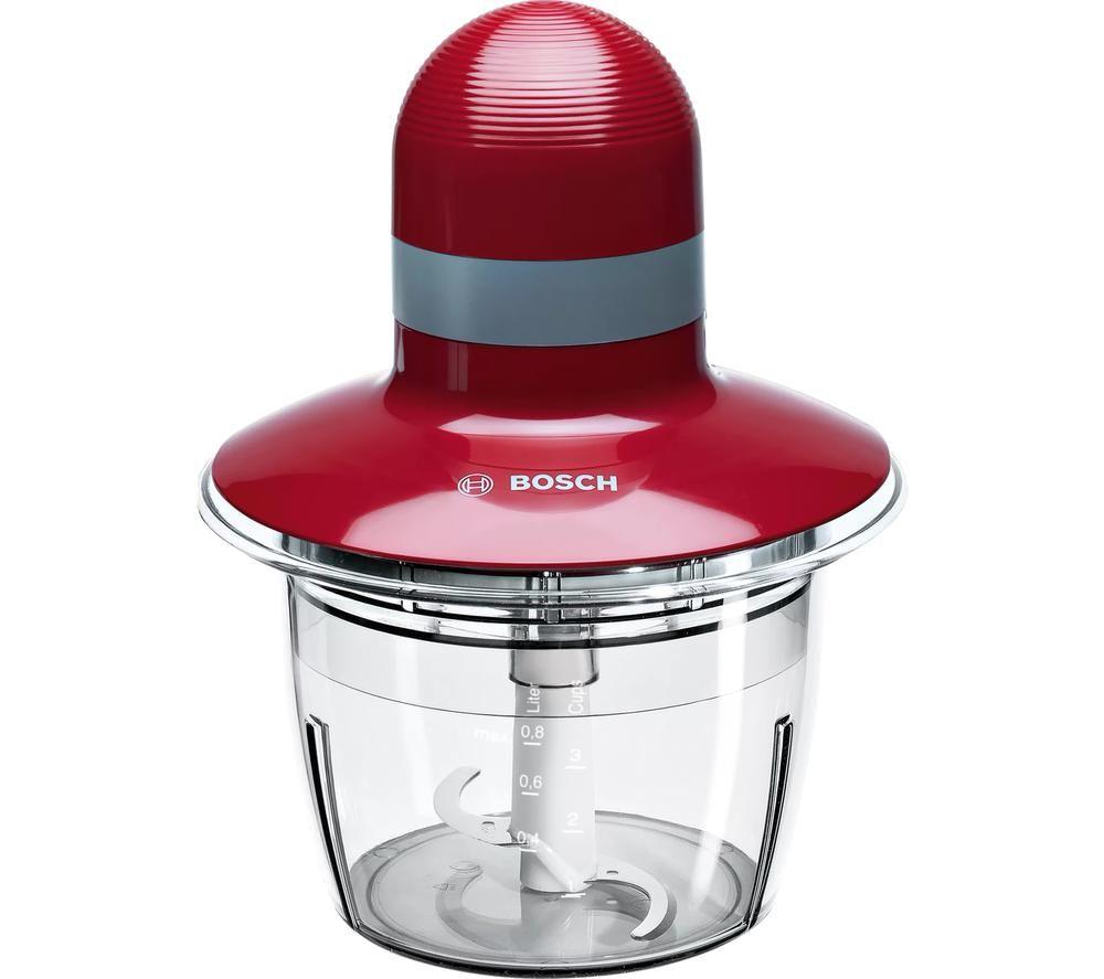 BOSCH MMR08R1GB Mini Chopper - Red, Red