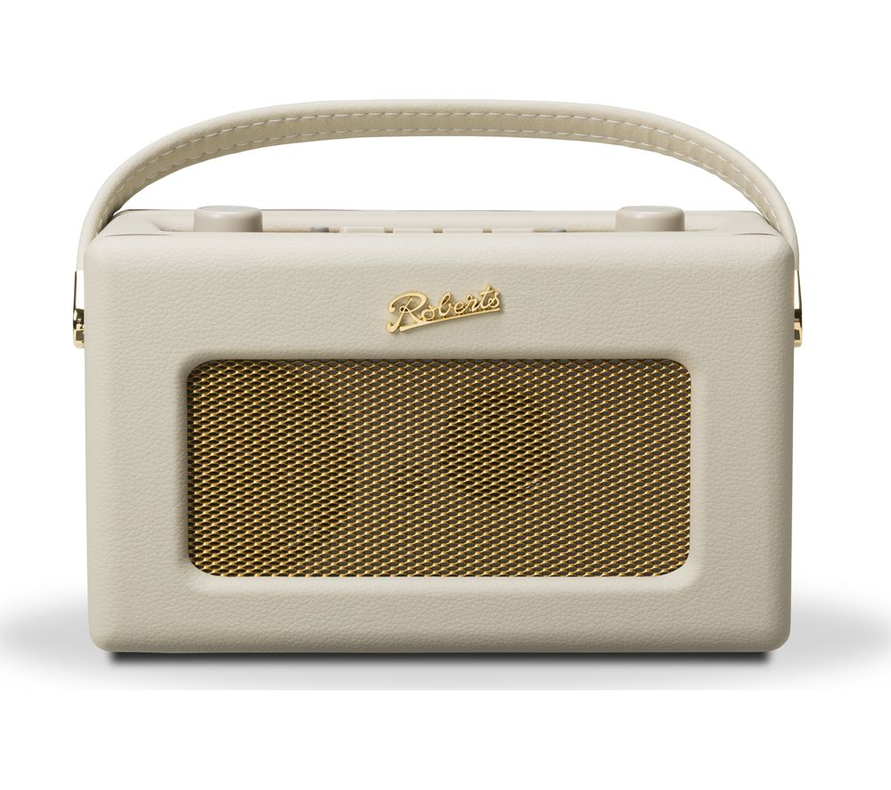 ROBERTS Revival RD60 Portable DAB Radio - Pastel Cream