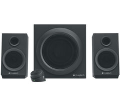 LOGITECH Z333 Multimedia 2.1 PC Speakers