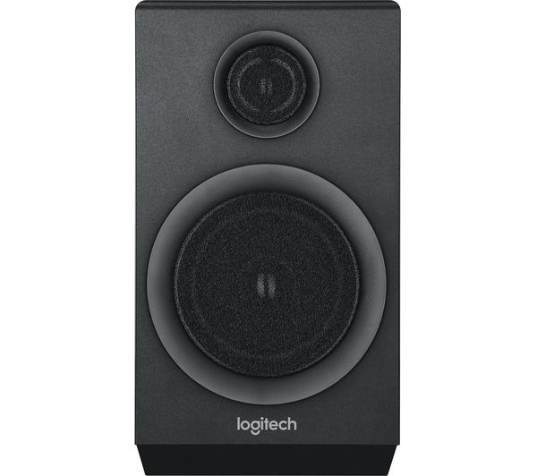 buy logitech z333 multimedia 2 1 pc speakers free delivery currys