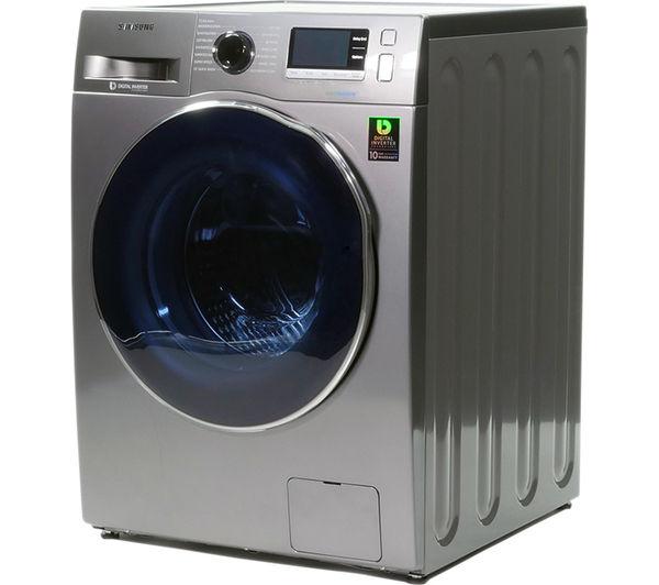 Cheap Washer Dryer Uk Part - 25: SAMSUNG Ecobubble WD90J6410AX/EU Washer Dryer - Graphite