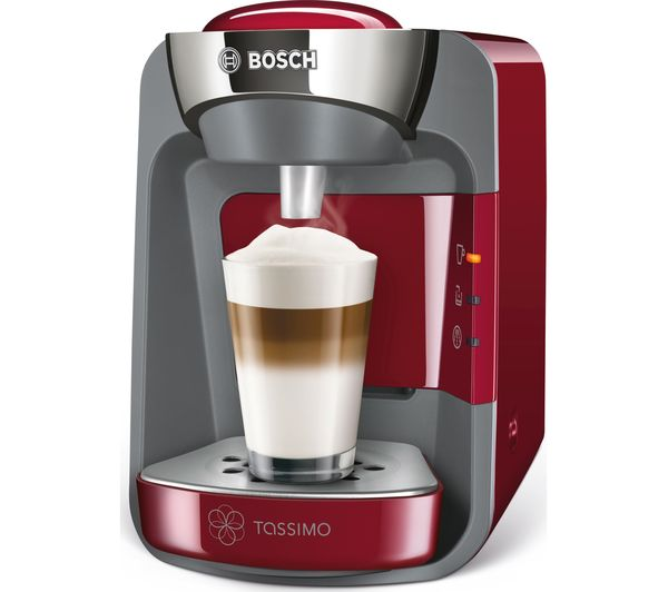 buy tassimo by bosch suny coffee machine red free. Black Bedroom Furniture Sets. Home Design Ideas