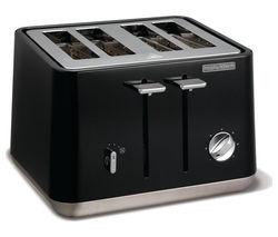 MORPHY RICHARDS Aspect 240002 4-Slice Toaster - Black