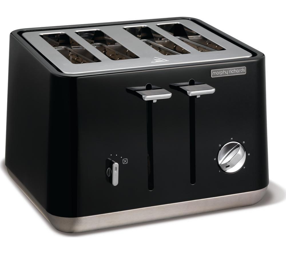 Buy Morphy Richards Aspect 240002 4 Slice Toaster Black