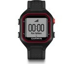 GARMIN Forerunner 25 GPS Running Watch - Black & Red