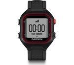 GARMIN Forerunner 25 GPS Running Watch - Black & Red