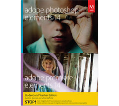 ADOBE Photoshop Elements 14 & Premiere Elements 14 Student & Teacher Edition