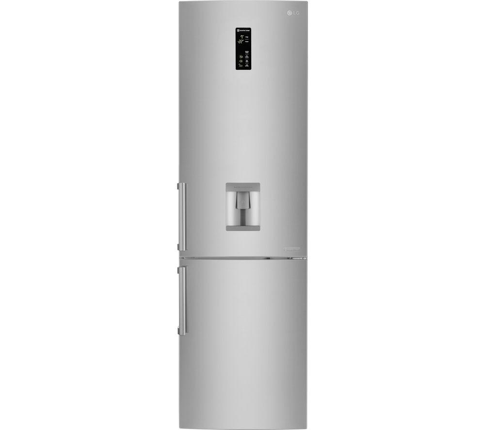 LG GBF60NSFZB 73/27 Fridge Freezer - Stainless Steel