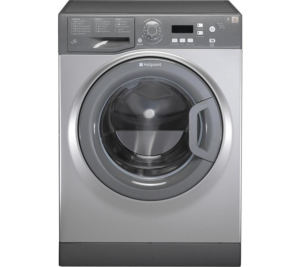 Buy Hotpoint Aquarius Wmaqf721g Washing Machine Graphite Free Learn More About Your Washer Or Dryer To Order Parts Click Here