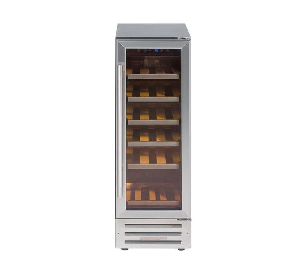 Image of STOVES 300SSWCMK2 Wine Cooler - Silver