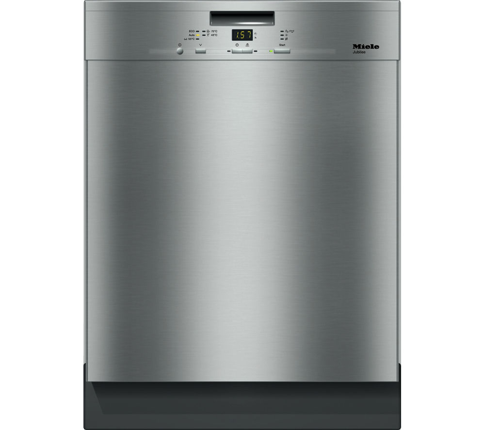 Miele Dishwasher Reviews >> Buy MIELE G4940BK CLST Full-size Dishwasher - Steel | Free ...