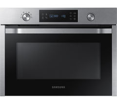 SAMSUNG NQ50K3130BS/EU Built-in Solo Microwave - Stainless Steel