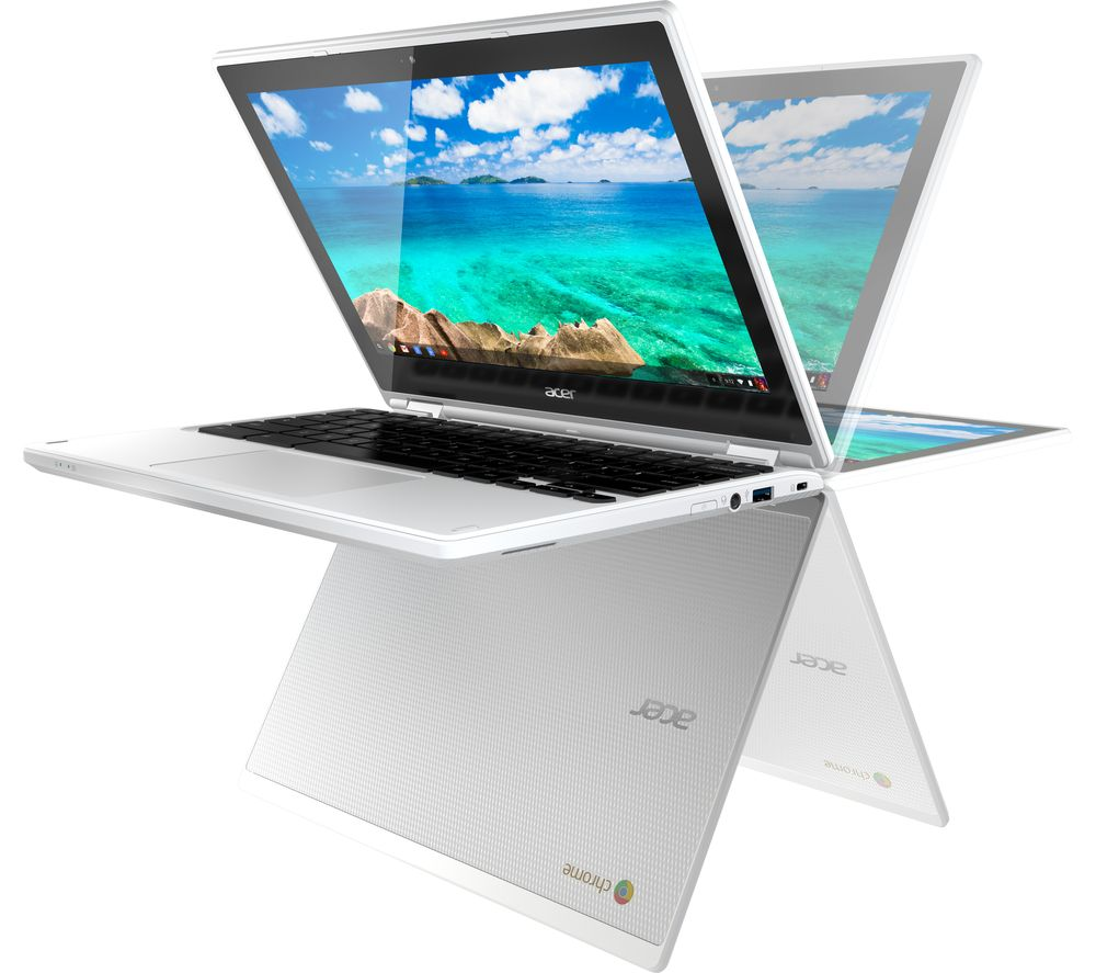 Chromebooks best chromebooks offers pc world acer chromebook r 11 cb5 132t 2 in 1 white reheart Image collections