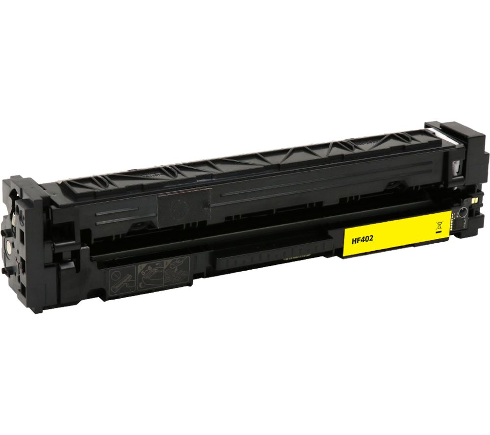 Compare retail prices of Essentials Remanufactured CF402A Yellow HP Toner Cartridge to get the best deal online