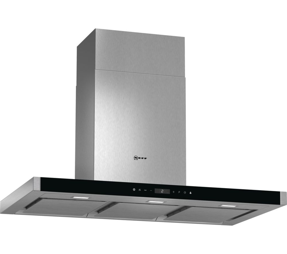 buy neff d79mt86n1b chimney cooker hood stainless steel free delivery currys. Black Bedroom Furniture Sets. Home Design Ideas