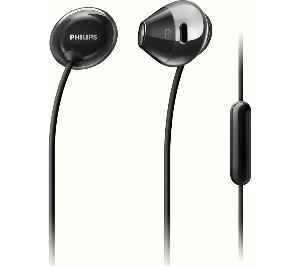 Image of PHILIPS Flite SHE4205BK Headphones - Black, Black