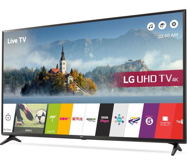 buy lg 43uj630v 43 smart 4k ultra hd hdr led tv free. Black Bedroom Furniture Sets. Home Design Ideas