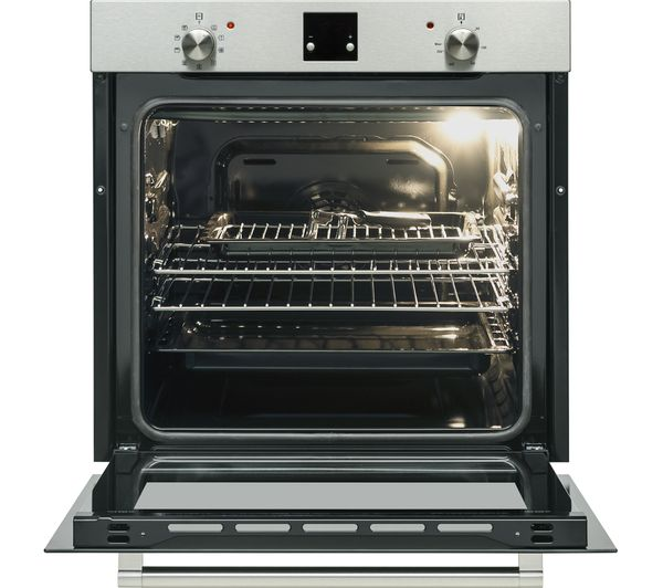 Buy Logik Lblfanx17 Electric Oven Inox Amp Black Free